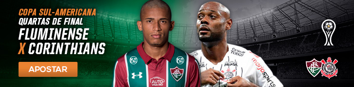Fluminense x Corinthians Quartas de Final Copa Sul-Americana